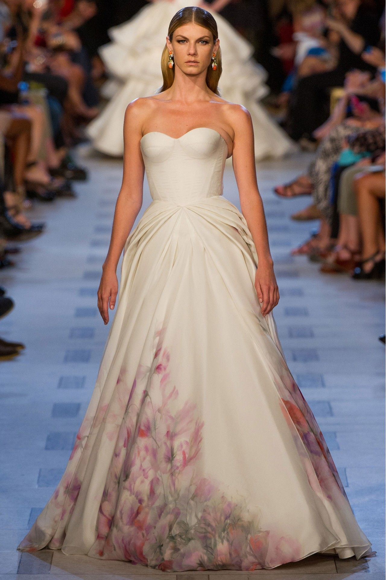Zac posen wedding dress  And The Bride Wore Zac Posen  Oscar Dresses  Pinterest  Zac posen