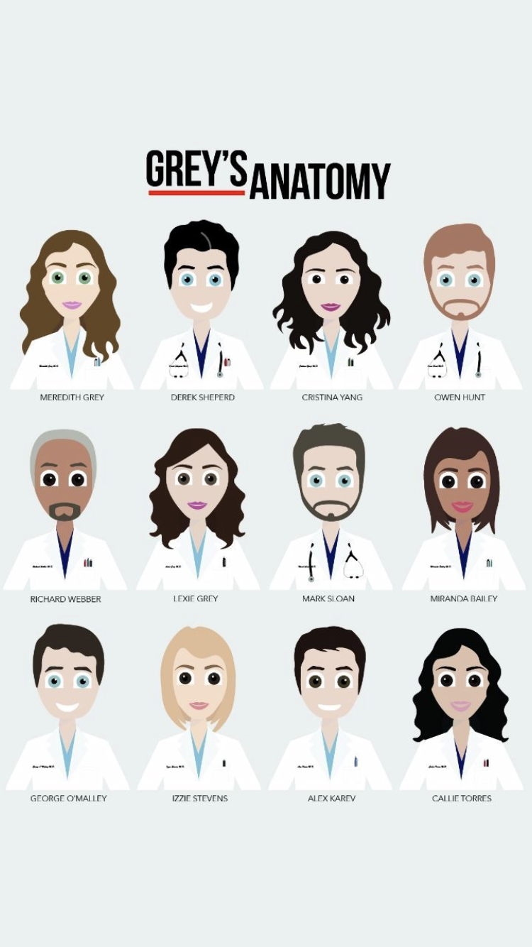 Pin by Catalina Parra on Grey\'s Anatomy | Pinterest | Anatomy, Grays ...