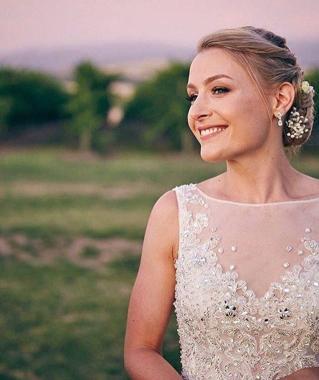 Gorgeous #rcrealbride Jen looks stunning in #maggiesottero ?? #dreamsintodresses #love @maggiesotterodesigns