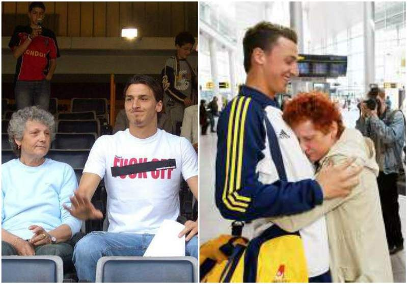 The Birth Family Of Zlatan Ibrahimovic Parents And Siblings Zlatan Ibrahimovic Celebrity Families Football S