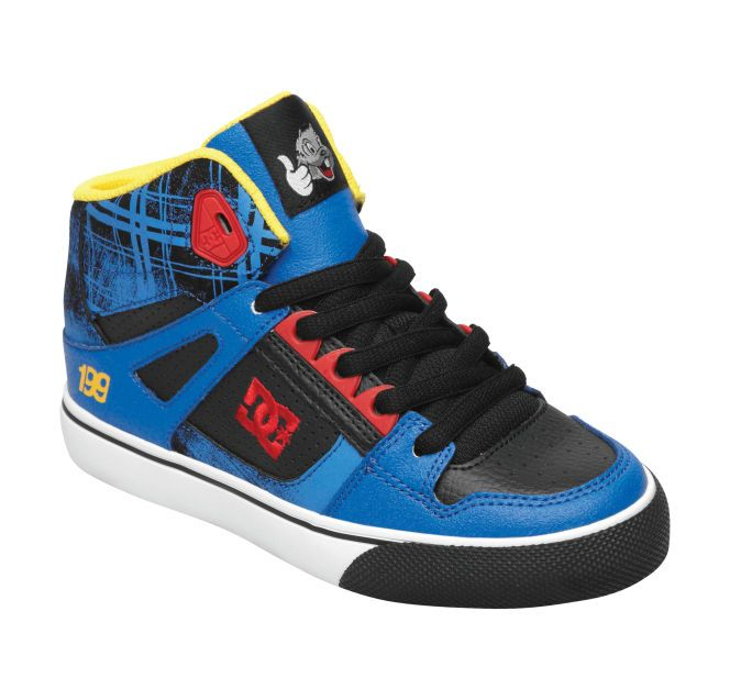 BASKET DC SHOES SPARTAN TRAVIS PASTRANA JUNIOR QVxmR0pu2