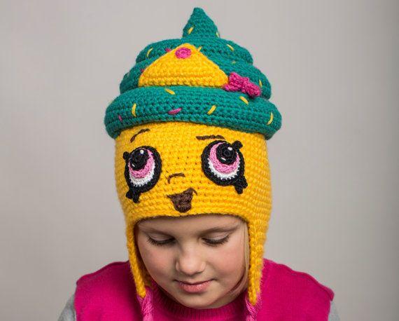 Shopkins Crochet PATTERN: Cupcake Queen Hat