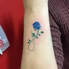 Resultado De Imagem Para Tatuagem Rosa Azul Ideas Tattoo Azul