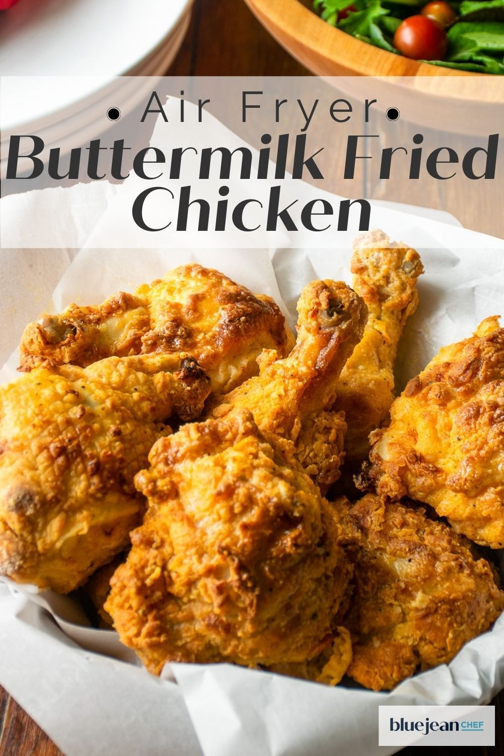 Air Fryer Fried Chicken Blue Jean Chef Meredith Laurence Recipe In 2020 Homemade Fried Chicken Air Fryer Fried Chicken Fried Chicken