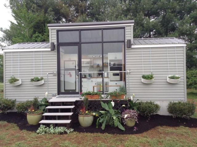 Tiny Modern House On Wheels modern, fully loaded, 172 ft tiny house on wheels, move in ready