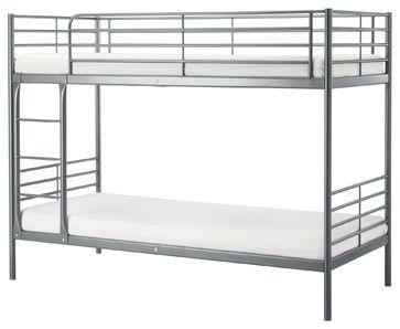 Svarta Bunk Bed Frame Ikea Beds Length 78 Height 62 5 8 Width 40 1 2 Mattress 74 38