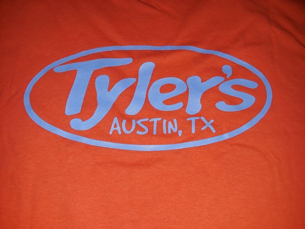 Tylers Austin Texas Keep Austin Weird T Shirt Xl Xlarge Orange New
