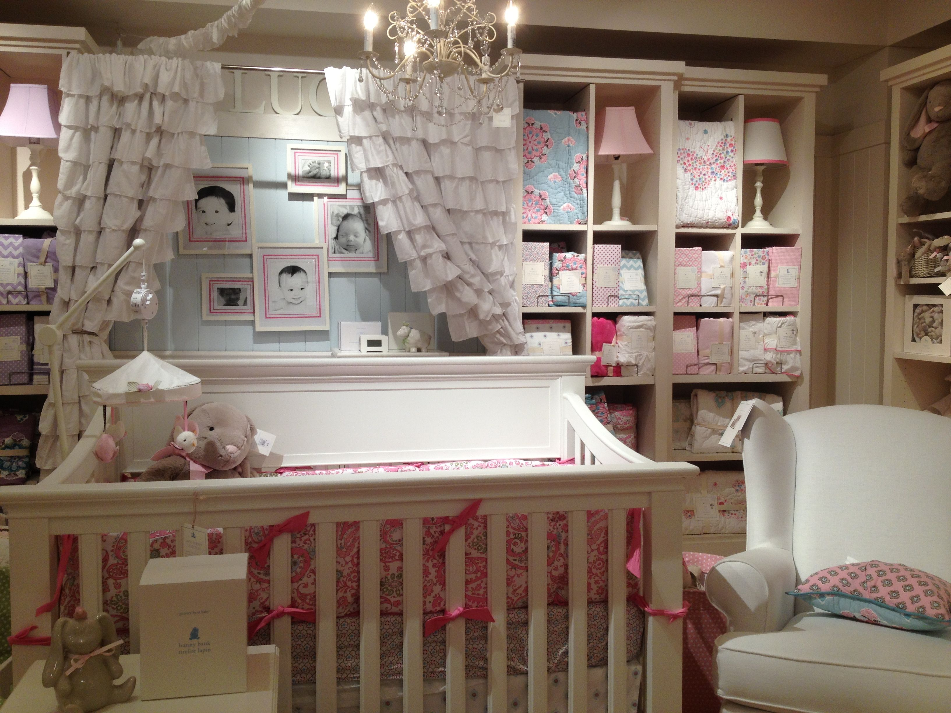 Potter Barn Nursery Inside The Pottery Barn Kids Store At