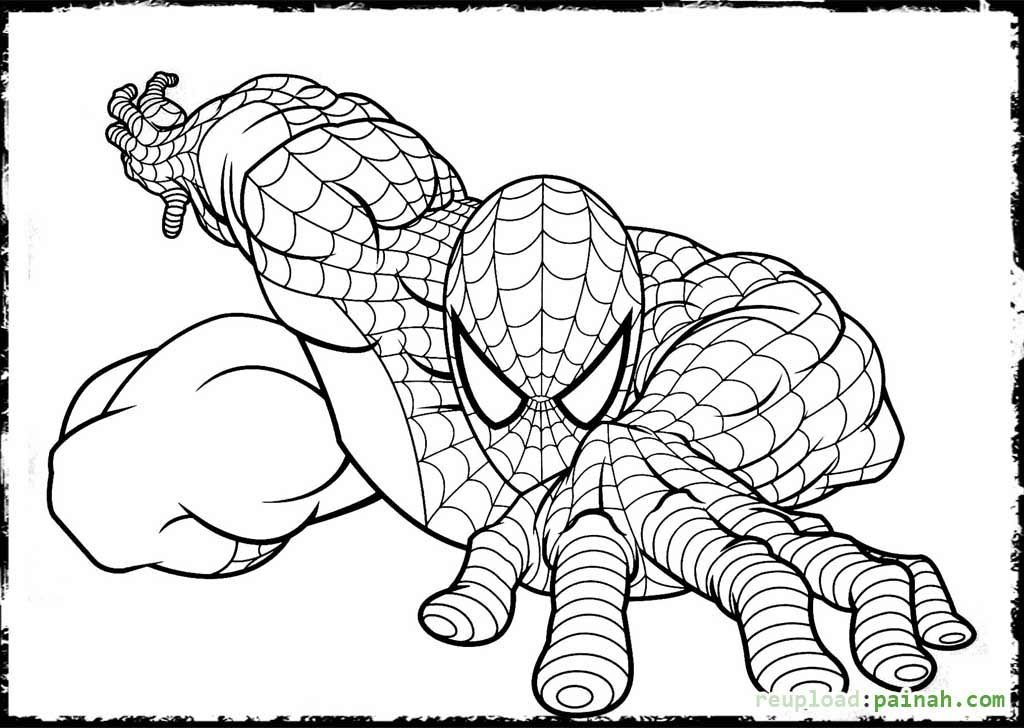 38++ Printable spiderman coloring pages pdf info