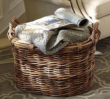 Chelsea Large Oval Basket Living Room Pinterest Basket Home