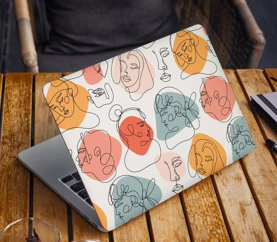 Abstract Fashion Laptop Skin Sticker Top MacBook P