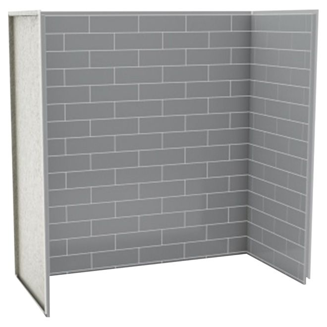 969 Rona Bath-Shower Wall Panel - Metro - Ash Grey | RONA | Home and ...