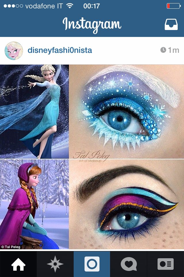 Frost. I'm not really in with the whole frozen hype but this makeup is pretty impressive.