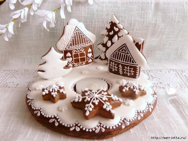 Рождественский пряник - неотъемлемый атрибут новогодних праздников