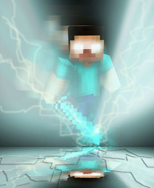 Cool Herobrine Wallpaper I Found Minecraft Wallpaper Minecraft Pictures Minecraft Posters