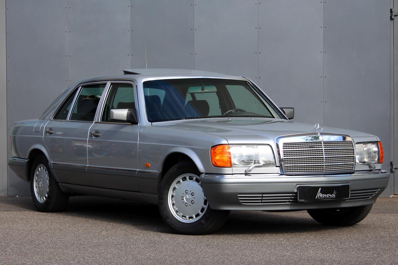 mercedes benz mercedes 560 sel 560sel w126 coches. Black Bedroom Furniture Sets. Home Design Ideas