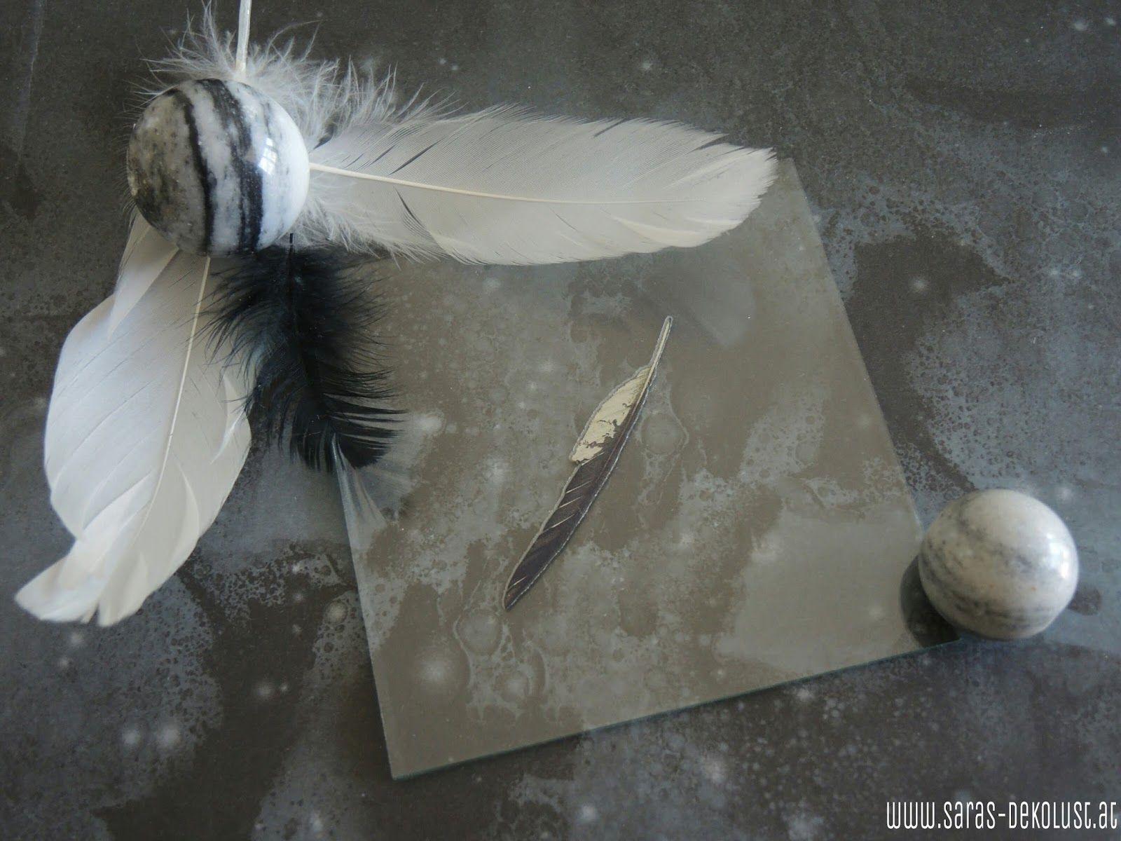 SARAS Dekolust: Kleines Glasbild ohne Rahmen