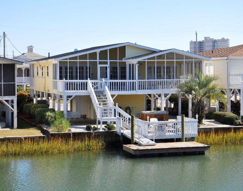 Private Homes Vacation Rental Vrbo   Br Cherry Grove Beach House In Sc