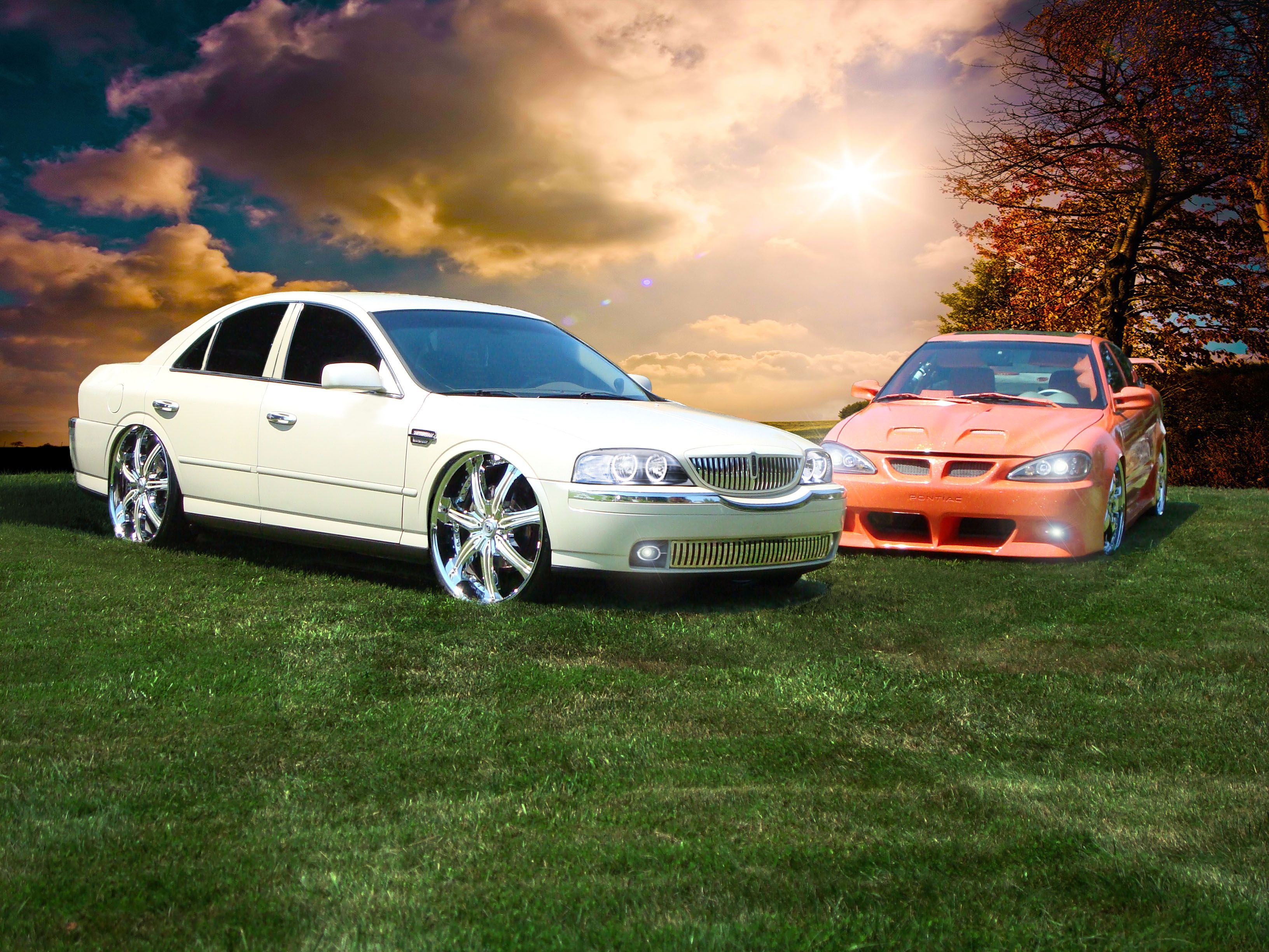 Lincoln ls if i had tons of money and diferent prioraties thats