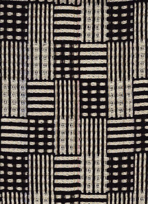 Dominoes Scarf in Black and White | Weaving | Pinterest | Telar ...
