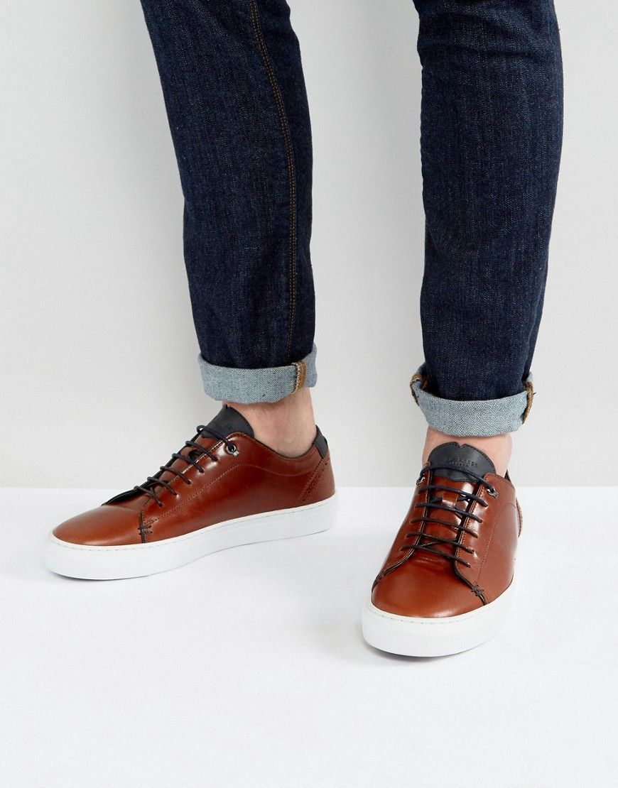 a1ac7806ab59 TED BAKER DUUKE SNEAKERS - TAN.  tedbaker  shoes