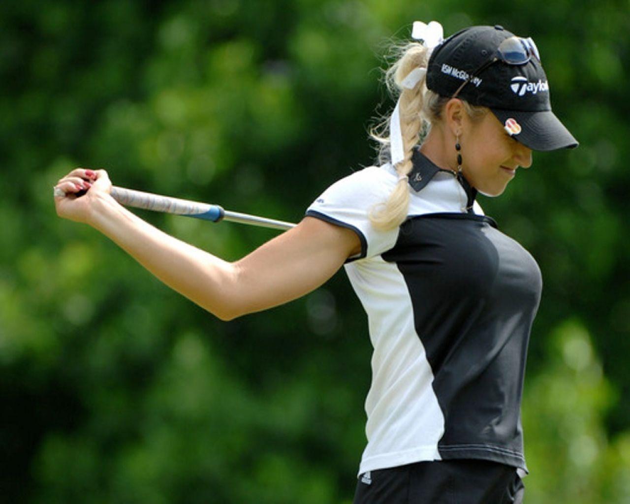 titties Female Golfers, Female Athletes, Women Athletes, Natalie Gulbis,  Funny Golf,