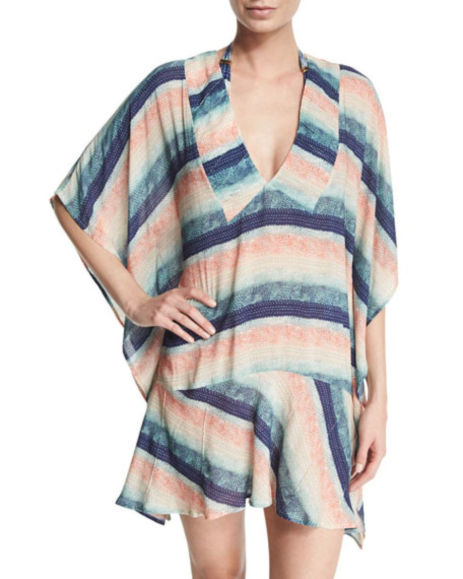 abd771d8870c1 Take it all off... or Don't! 50 of this Summer's Hottest Cover Ups | Summer  Fashion | Short beach dresses, Drop waist et Tops