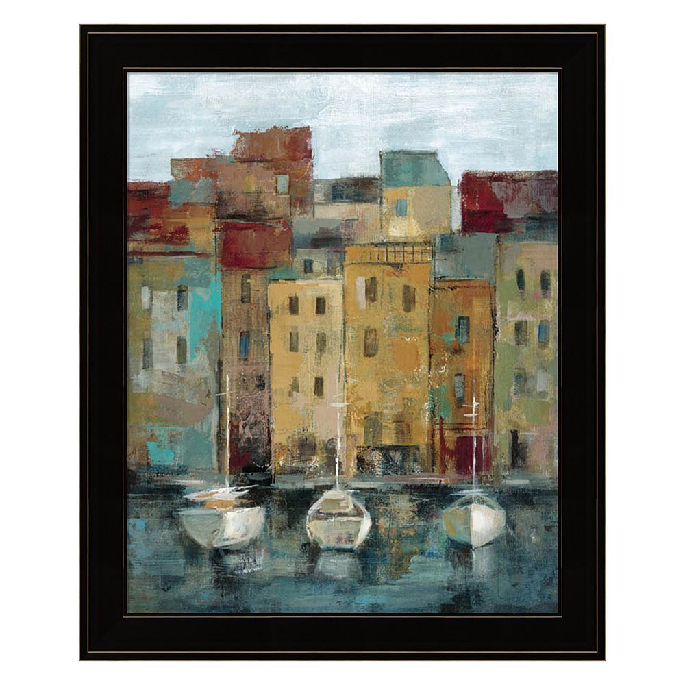 Metaverse Art Old Town Port II Framed Wall Art | Pinterest