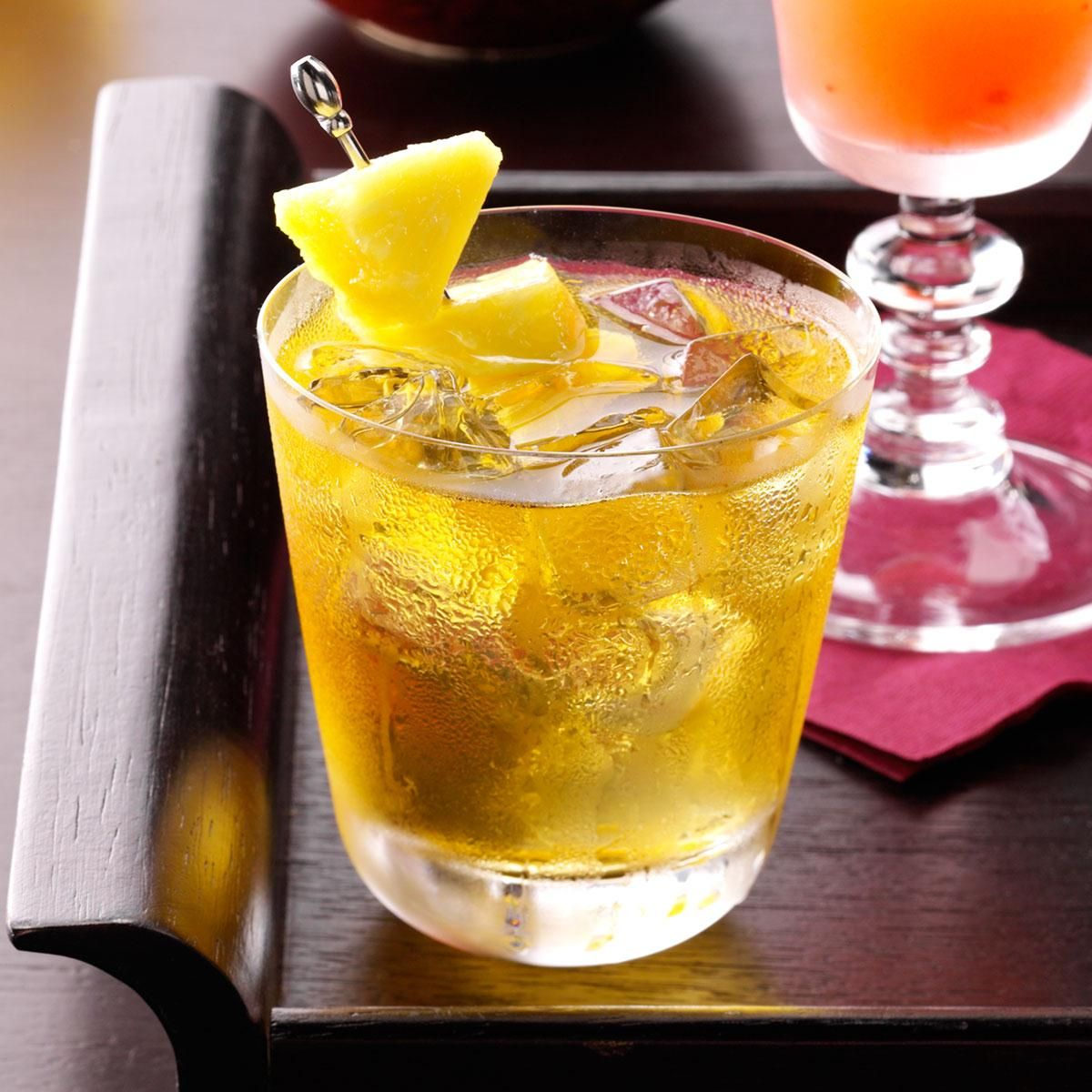 PearApple Cocktail Recipe Chezita's Happy Hour