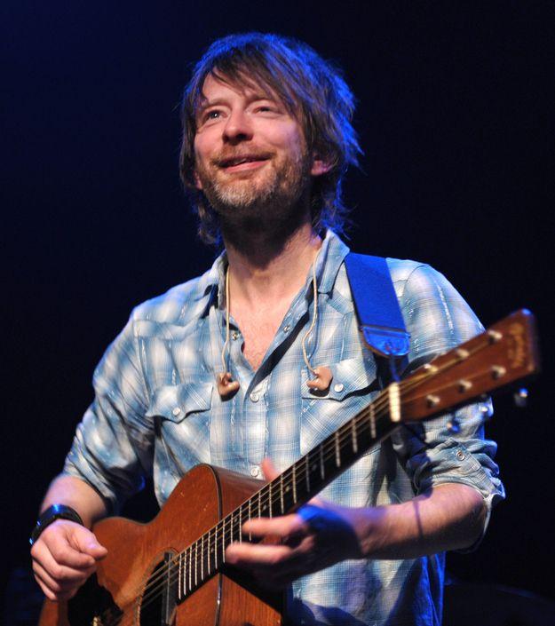 27 Photos Of Thom Yorke Smiling