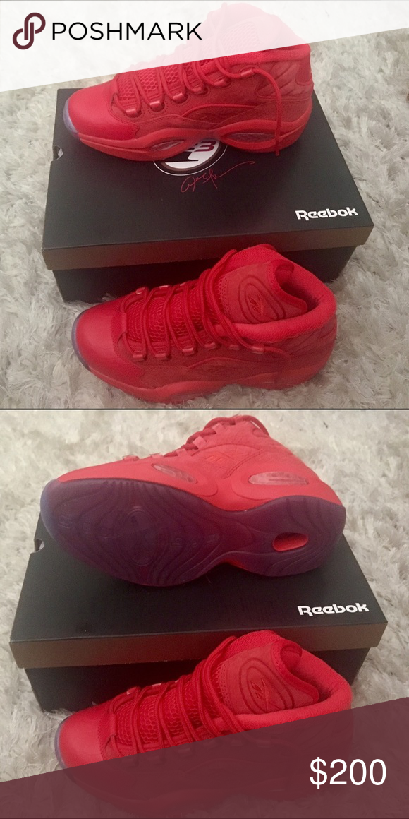 68a82e1f24c Teyana Taylor by Reebok in Red (Allen Iverson AI) Brand NEW