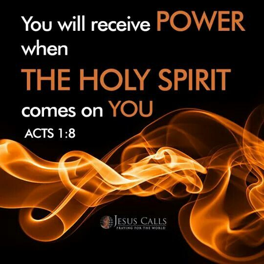 Acts 1:8 For some this occurs from a young age ❤️ | Acts 1 8, Bible study  scripture, Holy spirit