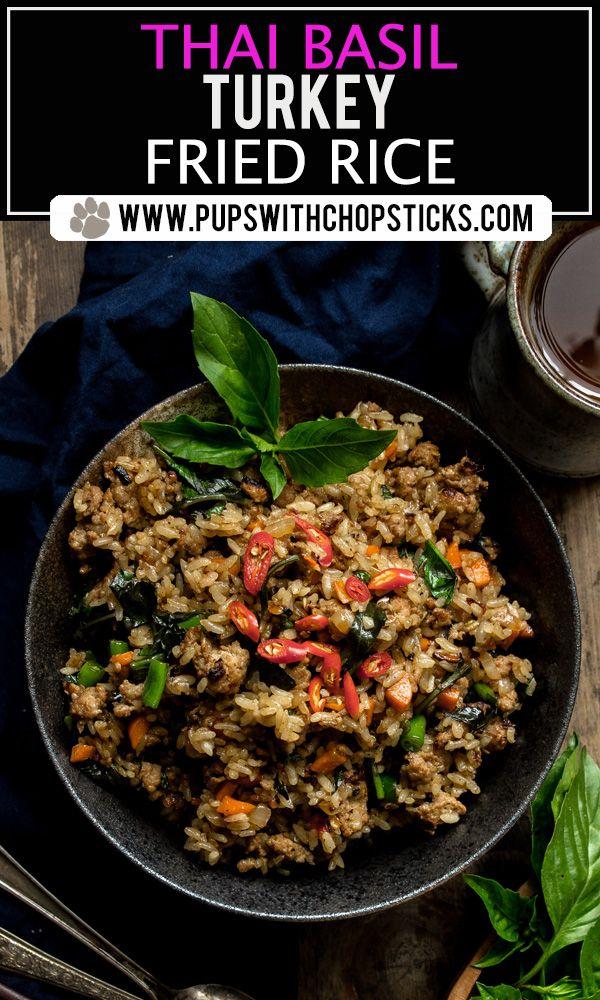 Thai Basil Turkey Fried Rice images