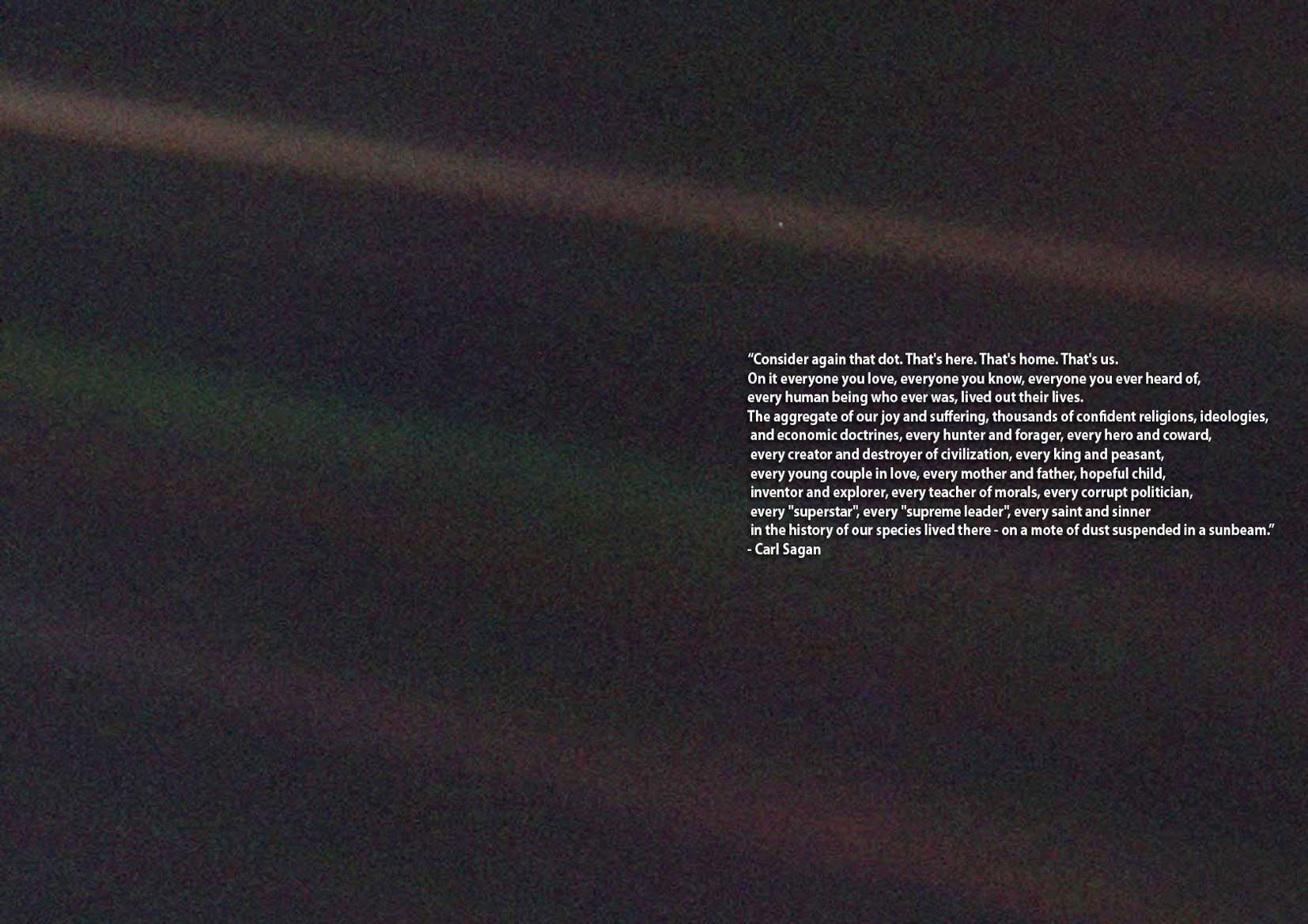 Carl Sagan Quotes Pale Blue Dot Google Search Pale
