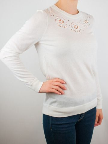 Joie Eppie Porcelain Sweater from Cicada For Her