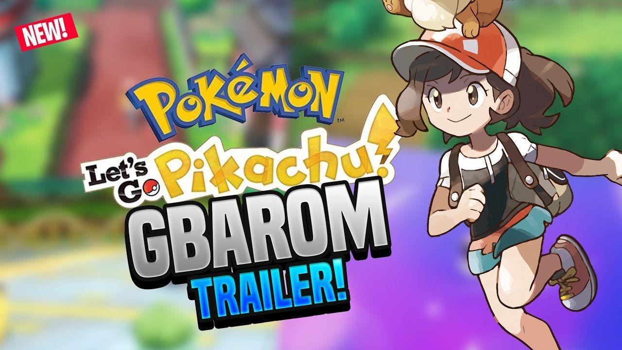 Pokemon Lass uns gehen Pikachu GBA Rom Hack von Kevin