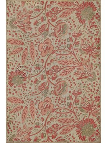 Botanical Floorcloth