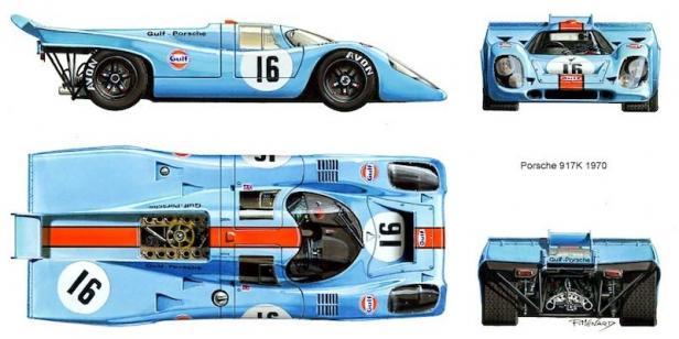 La Porsche 917 Est Nee En 1968 Pour Faire La Guerre A Une Epoque Ou Les Courses D Endurance Avaient Autant Si Ce N Est Plu Porsche 917 Porsche Best Racing Cars