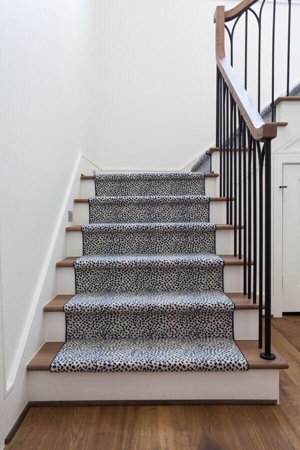 Statement Stairs 3 Ways To Take A Design To The Next Level Stair Runner Carpet Carpet Staircase Stair Runner