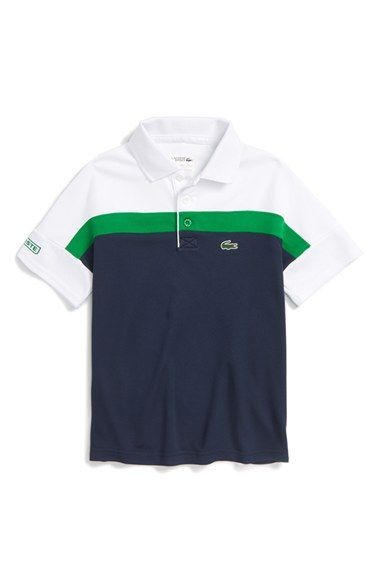 62db51d2f Lacoste Colorblock Ultra Dry Polo (Big Boys) available at  Nordstrom ...