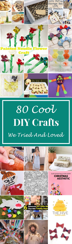 80 Cool DIY Crafts We Tried And Loved | Cool diy, Diy ...