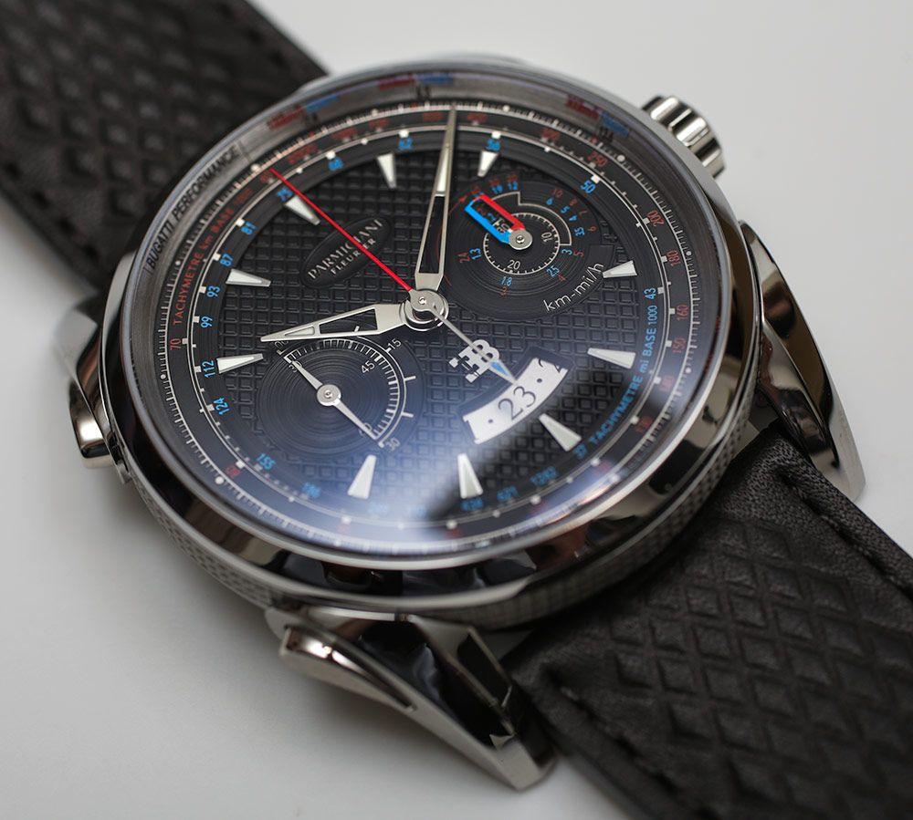 Parmigiani Fleurier Bugatti Aerolithe Performance Titanium Watch