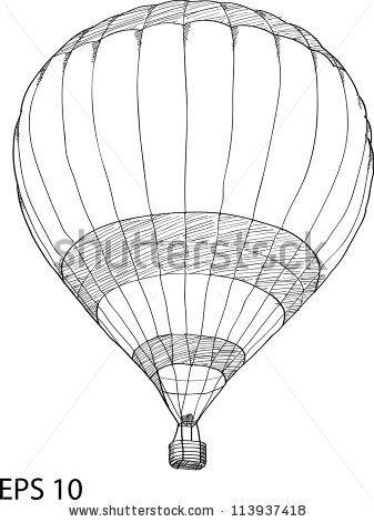 balloon draw pesquisa google hot air