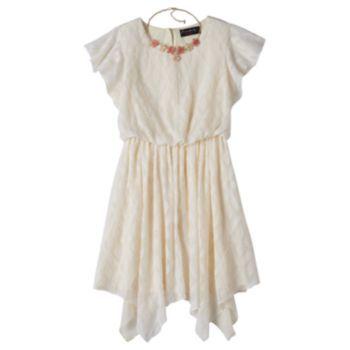 fe38229d31 Girls 7-16 Disorderly Kids Flutter Sleeve Dress
