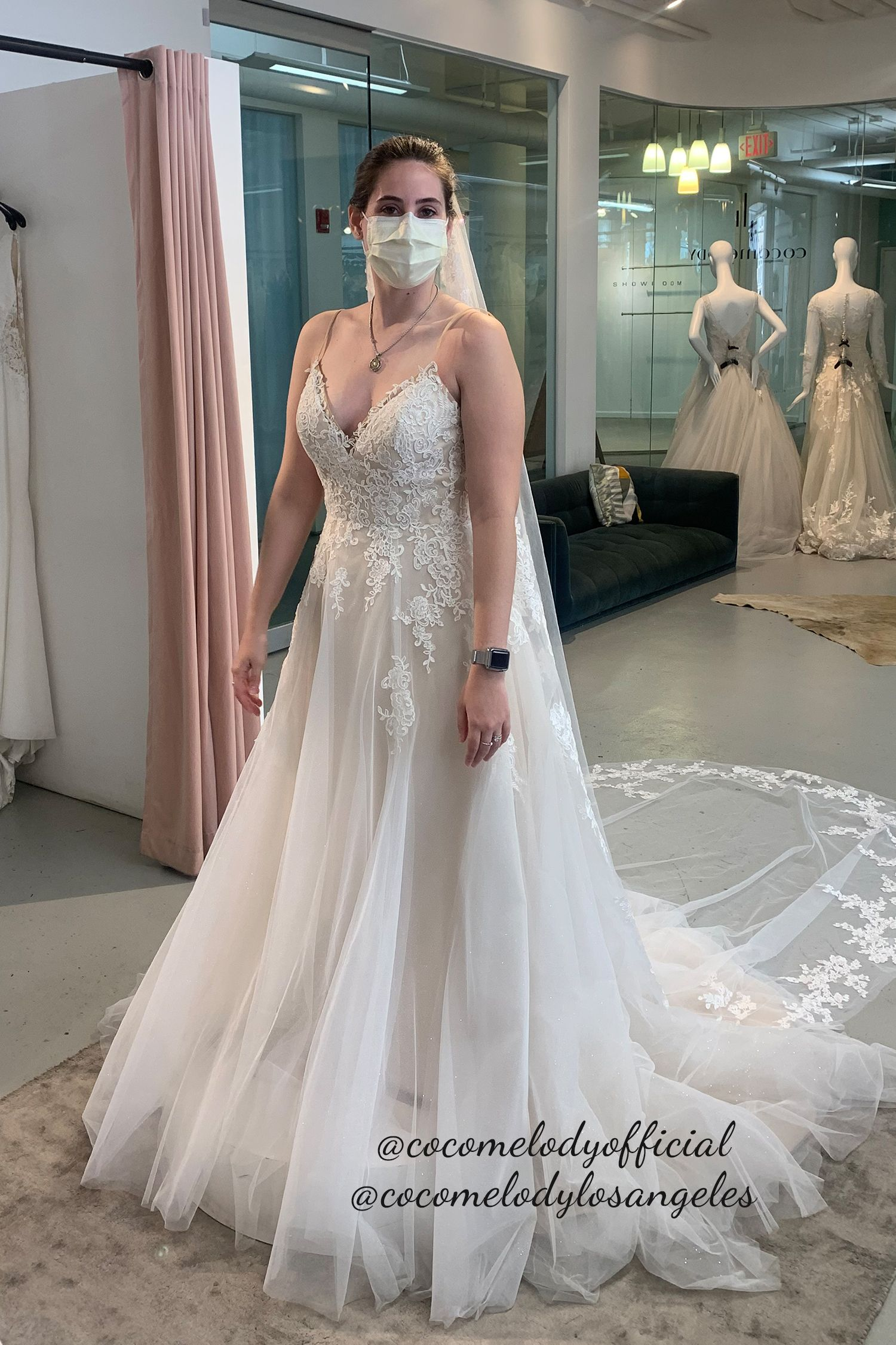 Enjoy Your Bridal Fitting At Cocomelody Bridal Stores In 2020 Wedding Dresses Bridesmaid Dresses Wedding Dresses Lace