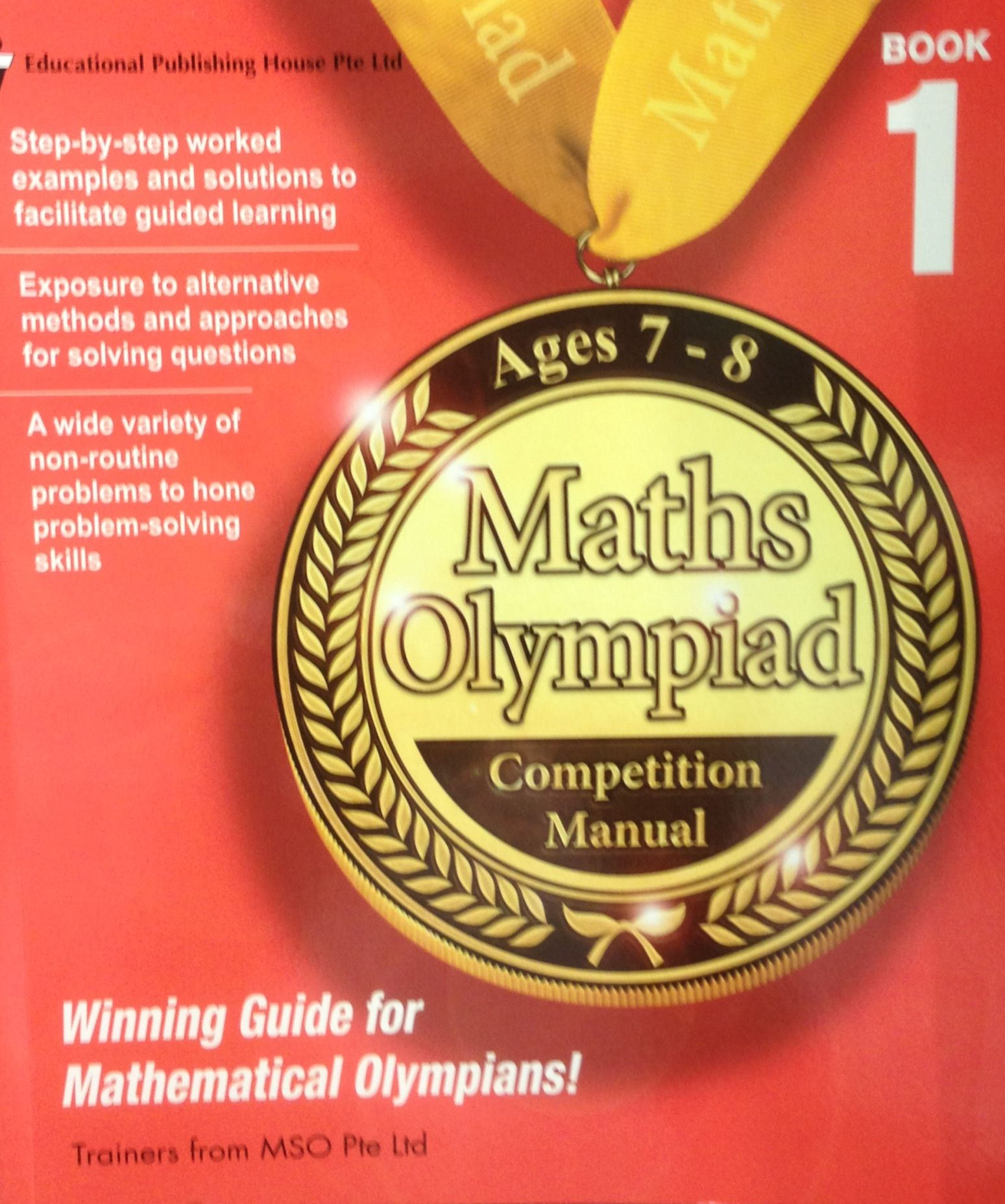 Another Market Saturated Olympiad Math Title For The Lower Grades