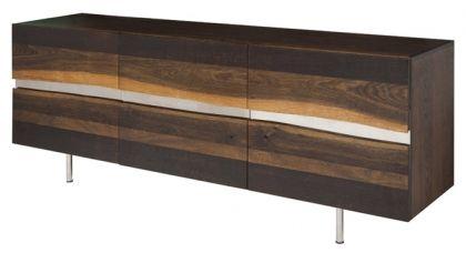 Nuevo Sorrento Buffet Wood Sideboard Cabinet Sideboard Cabinet French Oak