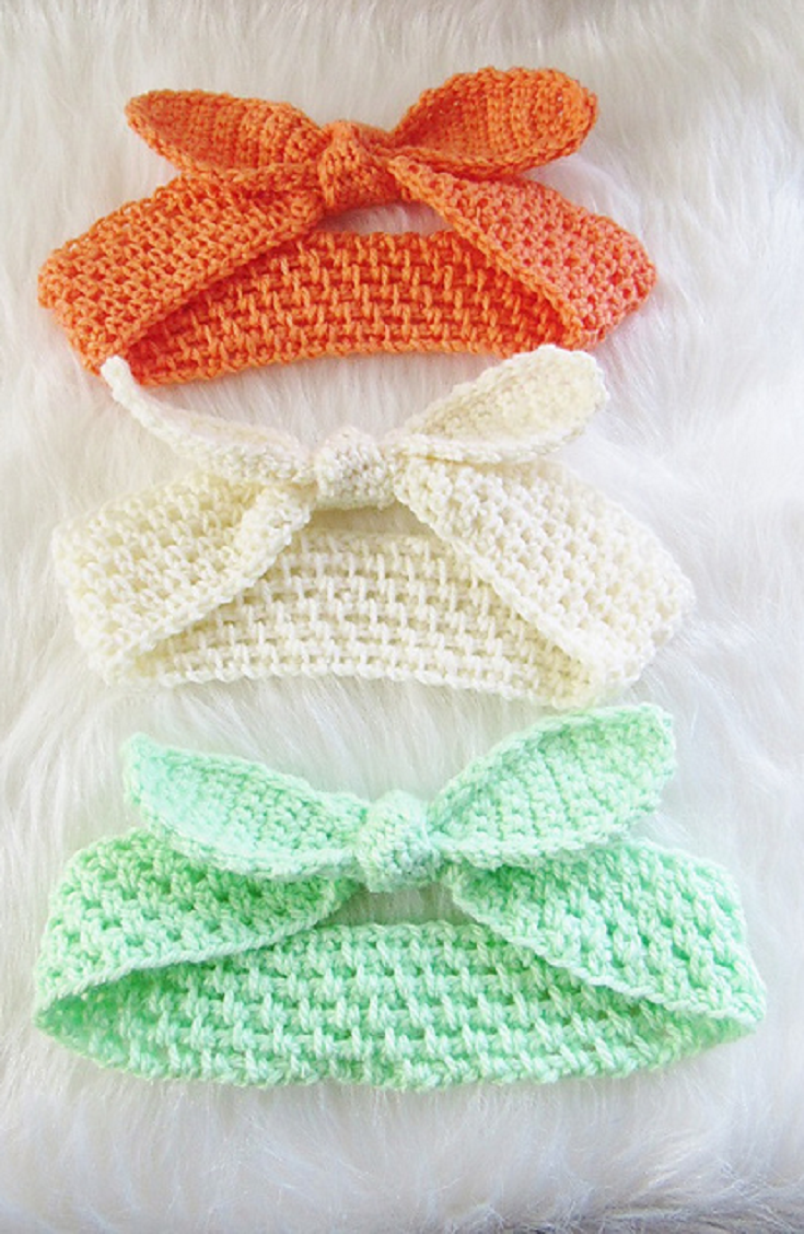 Best Fitting Crochet Headband Ever! | Pinterest | Tejido, Ganchillo ...