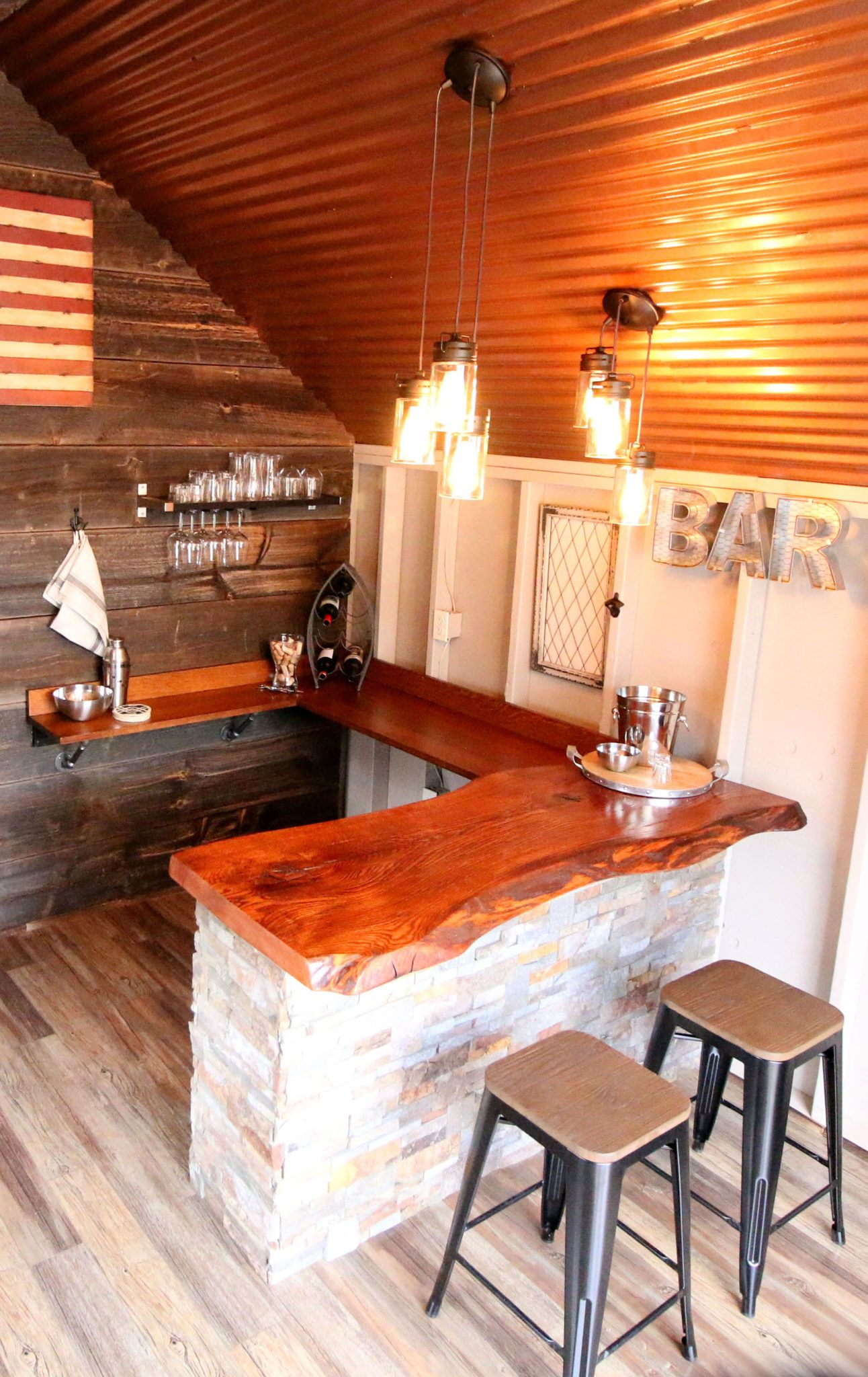 Garden Shed Ideas Interior Man Cave