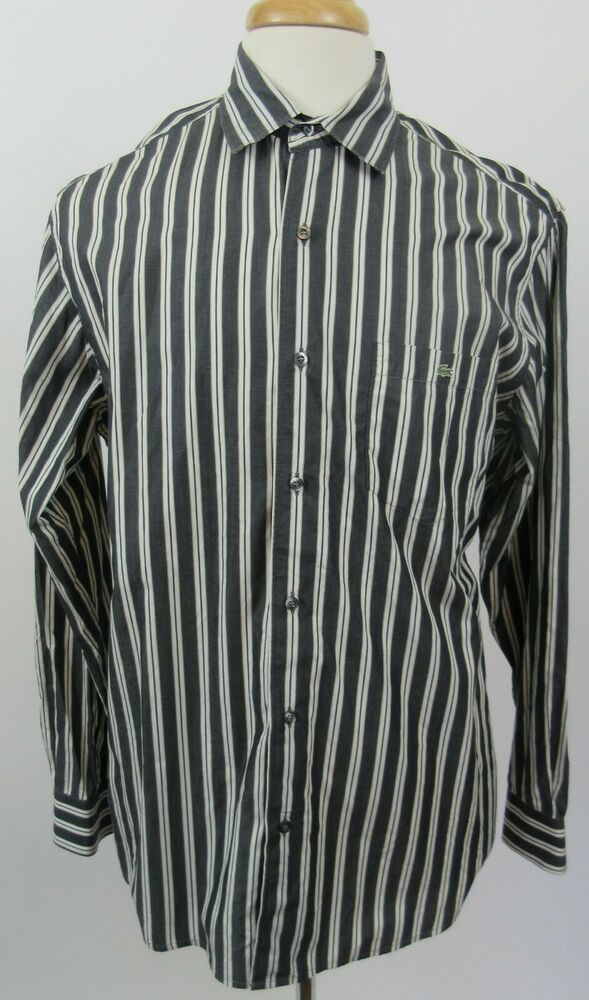 Izod Premium Essentials Natural Stretch Men/'s Long Sleeve Button Front Shirt $55